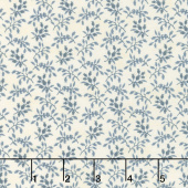 Holly Woods - Floret Snow Sky Yardage