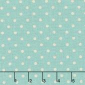 Linen Mochi Dot - Dot Caribbean Linen Yardage