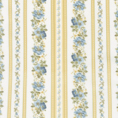English Countryside - Petite Stripe Natural Yardage