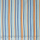 Road Trip - Stripe Blue Yardage