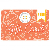 $100.00 Gift Card to the Missouri Star Quilt Company