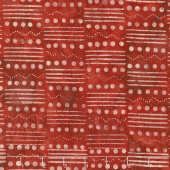 Tonga Batiks - United Morse Code Flag Yardage