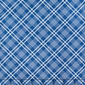 Gingham Girls - Gingham Plaid Blue Yardage