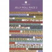 Jelly Roll Race 2 Quilt Pattern by Missouri Star