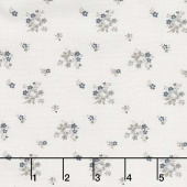 Serenity - Delicate Bouquet Cream Yardage