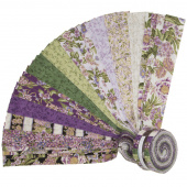 Avery Hill Blossom Metallic Roll Up