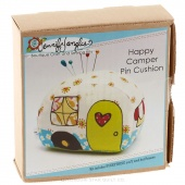 Happy Camper Pin Cushion Needlecraft Kit