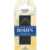Bohin Sharps Needles - Assorted Sizes 3/9