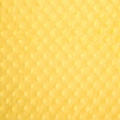 "Cuddle Embossed Dimple - Lemon 60"" Minky Yardage"