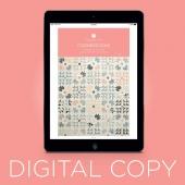 Digital Download - Cornerstone Quilt Pattern by MSQC