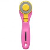 Olfa® Splash Fairy Floss Pink 45mm Rotary Cutter
