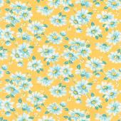 Flea Market - Floral Daisy Yardage