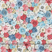 Stitch in Time - Buttons Multi Yardage
