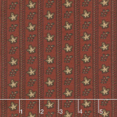 Harriet's Handwork 1820-1840 - Doffer Berry Red Yardage