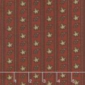 Harriet's Handwork 1820-1840 - Doffer Berry Red Yardage