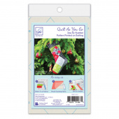 Holiday Square Stocking Quilt As You Go Preprinted Batting
