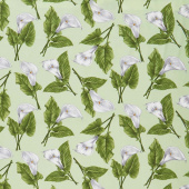 Magnificent Blooms - Calla Lily Sage Yardage