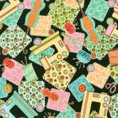 Sewing Mends the Soul - Everything Sewing Black Yardage