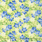 Summer Breeze V - Vinca Yellow Yardage