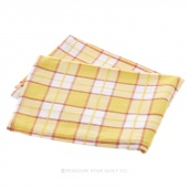 Tea Towel - Plaid Yellow