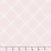 Majestic - Plaid Pink Yardage