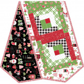We Whisk You a Merry Christmas! Log Cabin Table Runner POD Kit