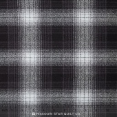 Mammoth Flannel - Plaid Charcoal Yardage