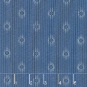 Crystal Lake - Diamond Stripes Light Blue Yardage