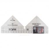 Creative Grids 90 Degree Double-Strip Ruler