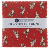 Storybook Flannel Charm Pack