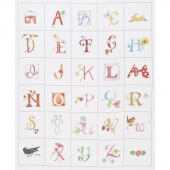 Susan Branch Alphabet Digitally Printed Panel