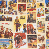 John Wayne - Main Collage Tan Yardage