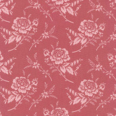 Red Elegance - Rose Brick Yardage