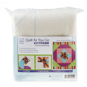 Square in a Square Quilt As You Go Express Preprinted Batting