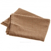 Mini Check Brown Teadye Tea Towel