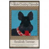 Scottish Terrier Precut Fused Appliqué Pack
