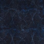 Tonga Batiks - Blue Moon Art Deco Ink Yardage