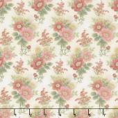 Gentle Garden - Master Floral Cream Flannel Yardage