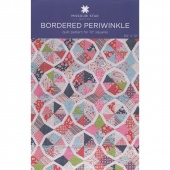 Bordered Periwinkle Quilt Pattern by Missouri Star