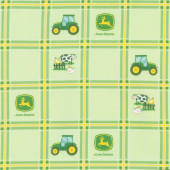 John Deere - Tractor Plaid Yardage