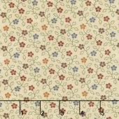 Milestones - Hope Blooms Tan Yardage