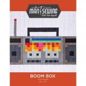 Boom Box Pattern from Man Sewing