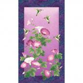 Morning Glory - Hummingbird Purple Multi Metallic Panel