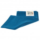 Home Grown Tea Towel - Navy Stripe