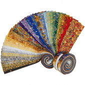Gustav Klimt New Colors Metallic Roll Up