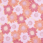 Murmur - Sunflower Pink Yardage