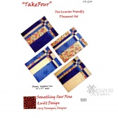 Take Four Place Mats Pattern