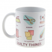 Quilt Happy - Quilty Things Mug