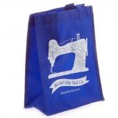 Missouri Star Small Shopping Tote Royal Blue