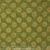 "Prairie Vine - Green 108"" Wide Backing"